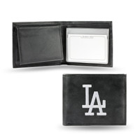 Los Angeles Dodgers Embroidered Billfold Leather Wallet