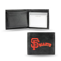 San Francisco Giants Embroidered Billfold Leather Wallet