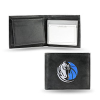 Dallas Mavericks Embroidered Billfold Leather Wallet
