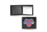 New York Knicks Embroidered Billfold Leather Wallet