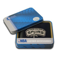 San Antonio Spurs Embroidered Billfold Leather Wallet