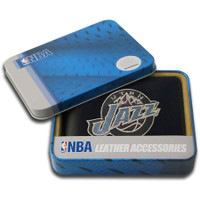 Utah Jazz Embroidered Billfold Leather Wallet