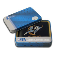 Washington Wizards Embroidered Billfold Leather Wallet