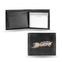 Anaheim Ducks Embroidered Billfold Leather Wallet