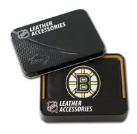 Boston Bruins Embroidered Billfold Leather Wallet