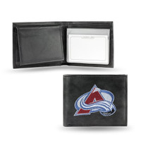 Colorado Avalanche Embroidered Billfold Leather Wallet