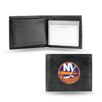 New York Islanders Embroidered Billfold Leather Wallet