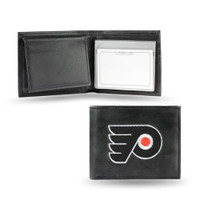 Philadelphia Flyers Embroidered Billfold Leather Wallet