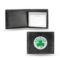 Boston Celtics Embroidered Billfold Leather Wallet