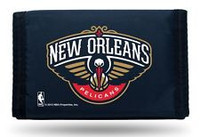New Orleans Pelicans Embroidered Billfold Leather Wallet