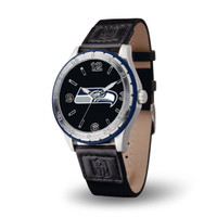 Seattle Seahawks Team Leather Watch by Sparo