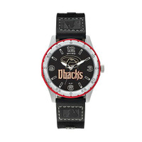 Arizona Diamondbacks Team Leather Watch by Sparo