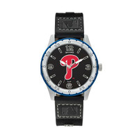 Philadelphia Phillies Team Leather Watch by Sparo
