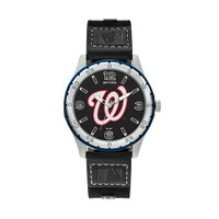 Washington Nationals Team Leather Watch by Sparo