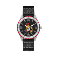 Ottawa Senators Team Leather Watch by Sparo