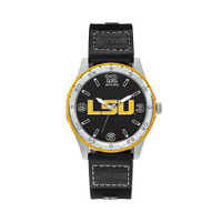 LSU Tigers Team Leather Watch by Sparo