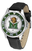 Marshall Thundering Herd Competitor Leather Watch White Dial