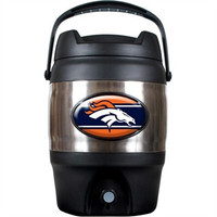 Denver Broncos 3 Gallon Beverage Dispenser