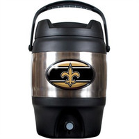 New Orleans Saints 3 Gallon Beverage Dispenser