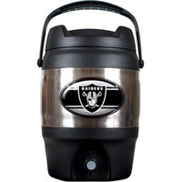 Oakland Raiders 3 Gallon Beverage Dispenser