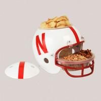 Nebraska Cornhuskers Snack Helmet