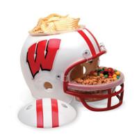 Wisconsin Badgers Snack Helmet