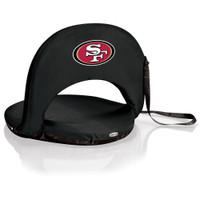 San Francisco 49ers Reclining Stadium Seat Cushion