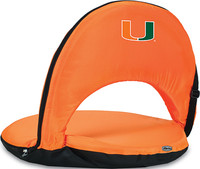 Miami Hurricanes Reclining Stadium Seat Cushion