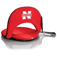 Nebraska Cornhuskers Reclining Stadium Seat Cushion