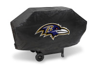 Baltimore Ravens Deluxe Barbecue Grill Cover