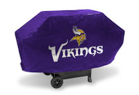 Minnesota Vikings Deluxe Barbecue Grill Cover
