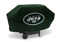 New York Jets Deluxe Barbecue Grill Cover