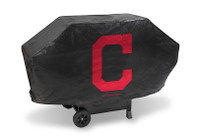 Cleveland Indians Deluxe Barbecue Grill Cover