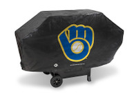 Milwaukee Brewers Deluxe Barbecue Grill Cover