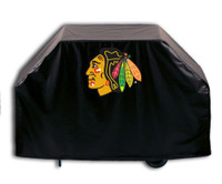 Chicago Blackhawks Deluxe Barbecue Grill Cover