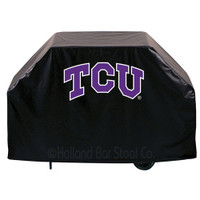 TCU Horned Frogs Deluxe Barbecue Grill Cover