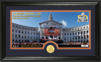 **Denver Broncos Super Bowl 50 Champions Parade Celebration Panoramic Bronze Coin Photo Mint LE