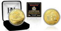 ***Denver Broncos Super Bowl 50 Champions Gold Coin LE