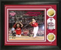 Todd Frazier 2015 MLB Home Run Derby Champion Gold Coin Photo Mint LE 5000