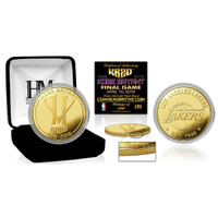 "Kobe Bryant Los Angeles Lakers ""Final Season"" 24k Gold Coin w/Case LE 5000"