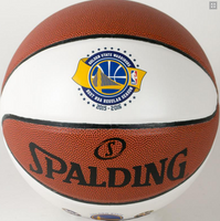 Golden State Warriors 73 Wins NBA Season Record Full Leather Basketball LE 2,016