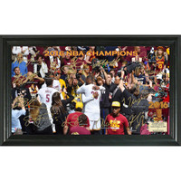 Cleveland Cavalier 2016 NBA Champions Signature Court Framed LE