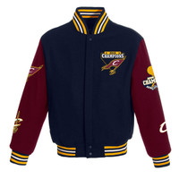 Cleveland Cavaliers 2016 NBA Finals Champions Wool Full-Zip Jacket - Navy