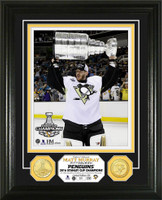 Pittsburgh Penguins 2016 Stanley Cup Champions Matt Murray Bronze Coin Photo Mint