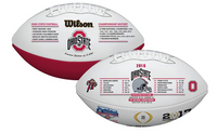 Ohio State Buckeyes 2016-2017 CFP Commemorative Wilson Leather Football LE 5000