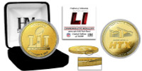 NFL Super Bowl LI 24k Gold Coin LE