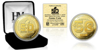 NFL Super Bowl 50 24k Gold Coin LE