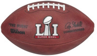 NFL Super Bowl LI Official Wilson Leather Football
