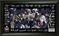 New England Patriots Super Bowl LI Championship Signature Grid LE 5,000