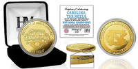 North Carolina Tar Heels 2017 NCAA National Champions 24k Gold Coin w/Case